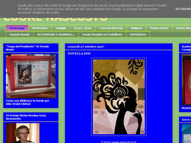 Anteprima cuorenascosto.blogspot.com
