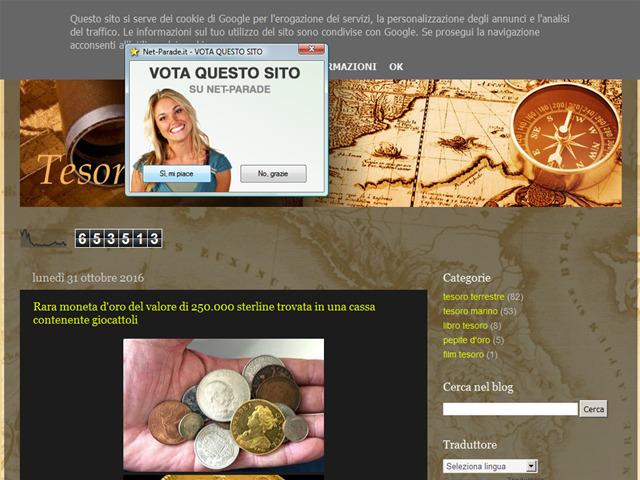 Anteprima tesorisommersi.blogspot.it