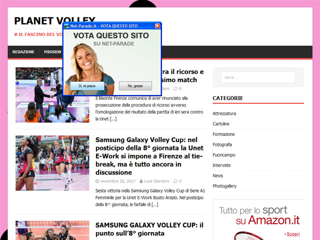 Anteprima www.planetvolley.it