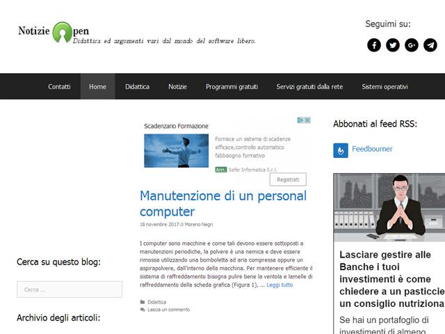 Anteprima www.notizieopen.it