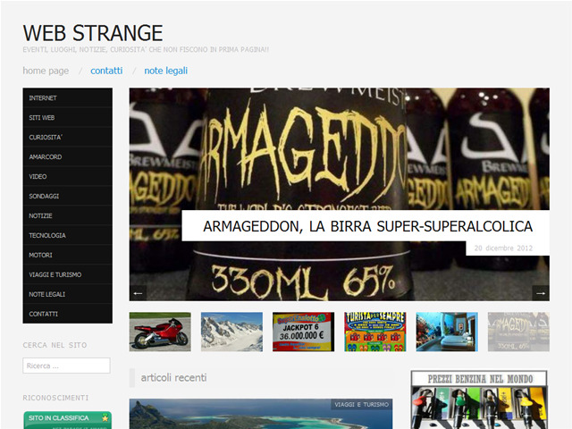 Anteprima webstrange.wordpress.com
