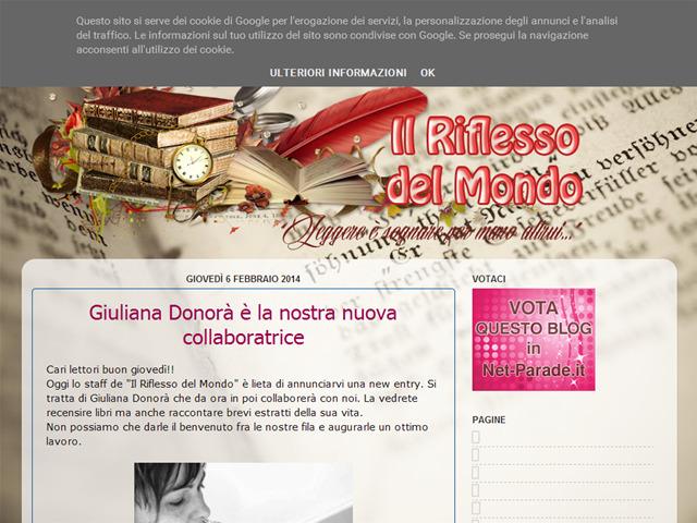 Anteprima ilriflessodelmondo.blogspot.it