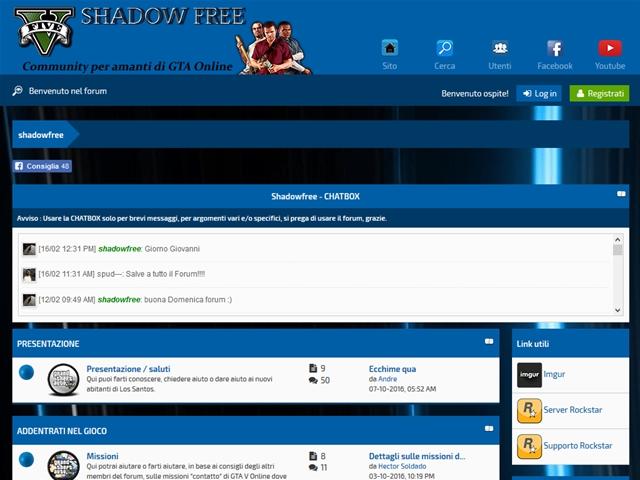 Anteprima shadowfree.altervista.org