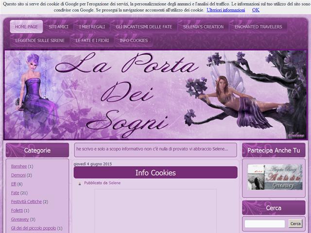 Anteprima laportadeisognidiselenia.blogspot.it