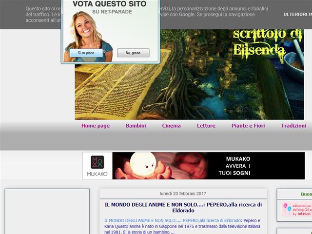 Anteprima ilmagiconataledielisenda.blogspot.it