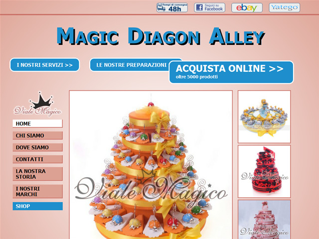 Anteprima www.magicdiagonalley.it