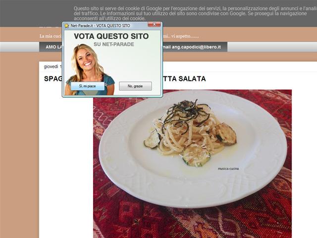 Anteprima musica-cucina.blogspot.it