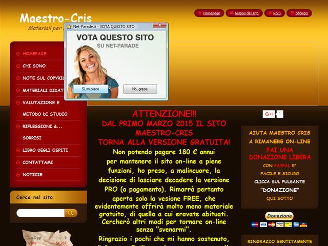 Anteprima www.maestro-cris.webnode.it