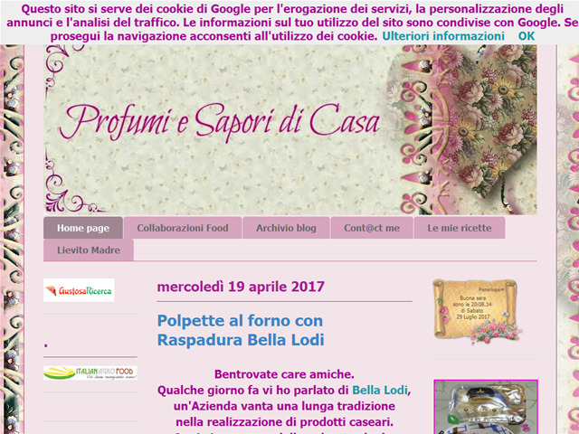 Anteprima iprofumieisaporidicasa.blogspot.it