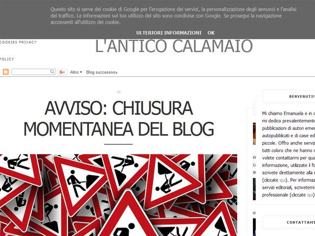 Anteprima anticocalamaio.blogspot.it