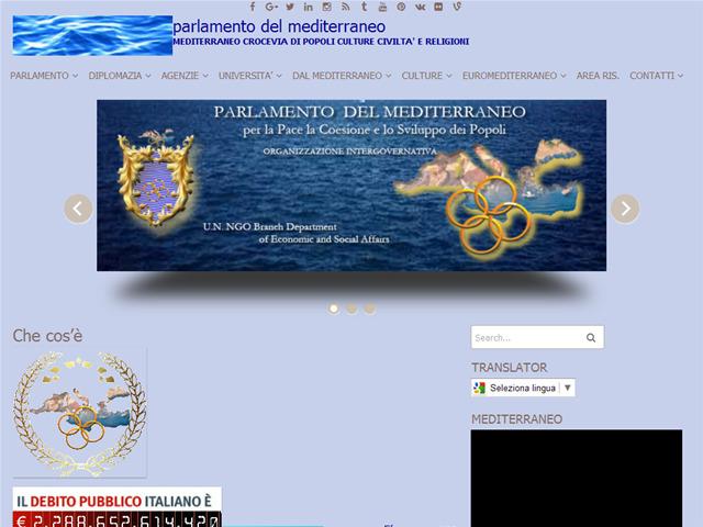 Anteprima mediterraneanparliament.cc