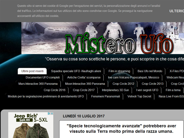 Anteprima misteroufo.blogspot.it
