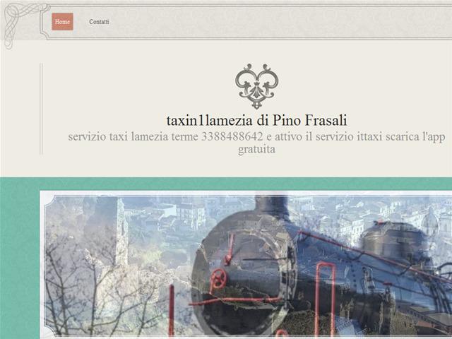 Anteprima www.taxin1lamezia.it