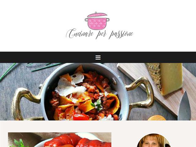 Anteprima www.cucinareperpassione.it