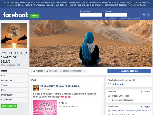 Anteprima www.facebook.com/pages/poeti-artisti-ed-amanti-del-bello/118029821569929