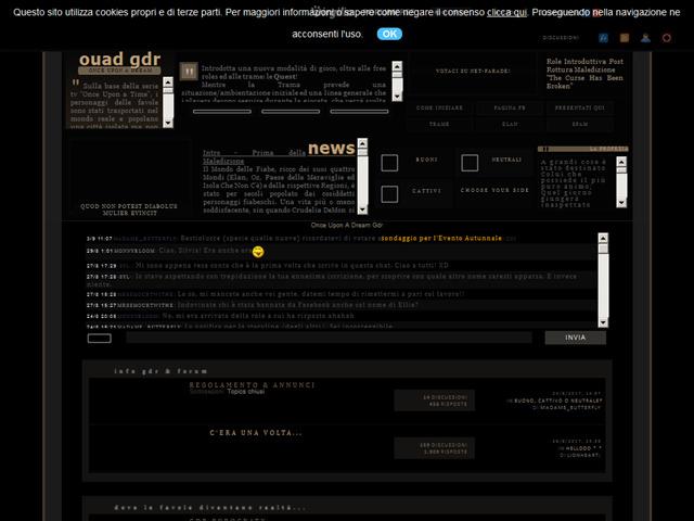 Anteprima onceuponadreamgdr.forumcommunity.net