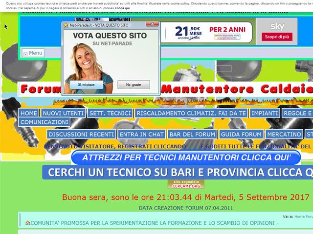 Anteprima termomanutentori.freeforumzone.leonardo.it/forum.aspx
