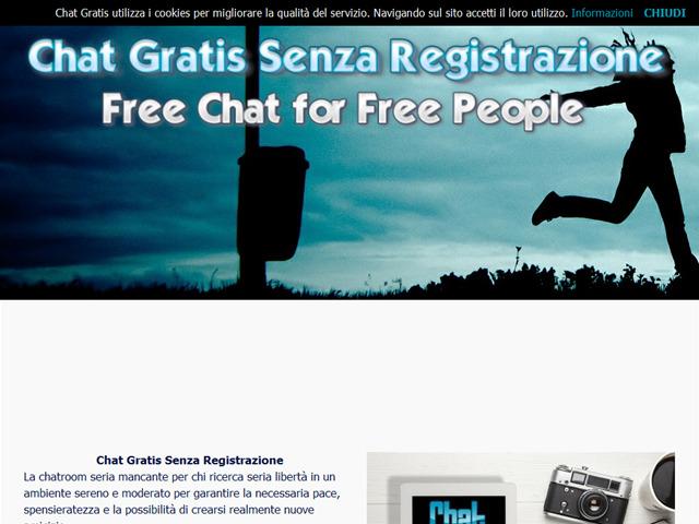 video gratis tettone chat gratuite e senza registrazione