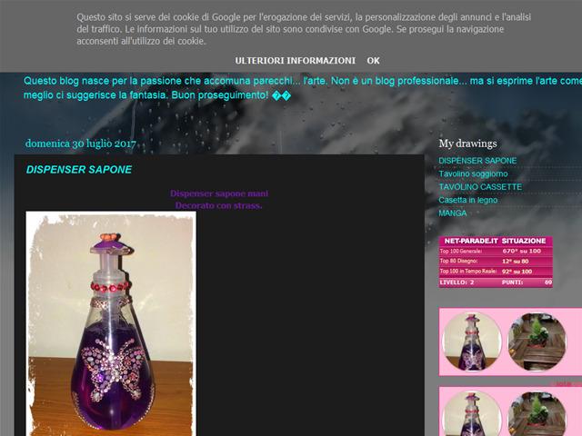 Anteprima lamiapassioneildisegno.blogspot.it
