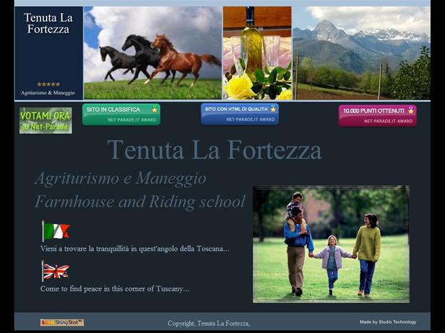 Anteprima www.tenutalafortezza.it