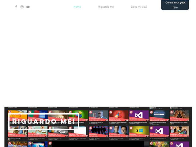 Anteprima fabioguadagno.wixsite.com/officialpage