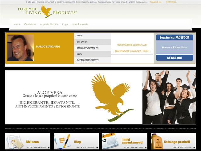 Anteprima www.aloe2000.it