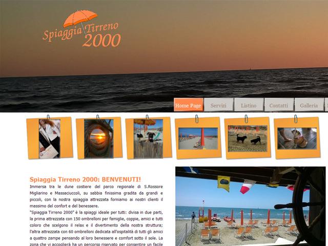 Anteprima www.spiaggiatirreno2000.it