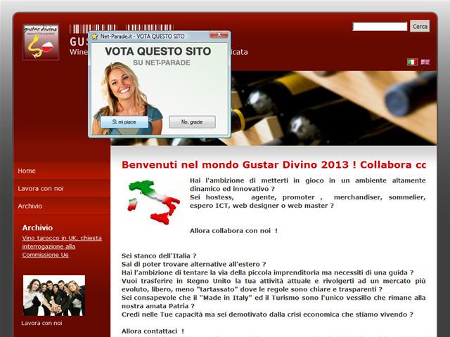Anteprima www.gustardivino.co.uk