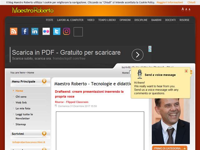 Anteprima www.robertosconocchini.it