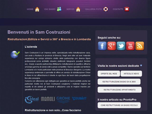 Anteprima www.samcostruzioni.org