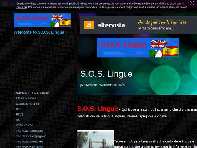Anteprima soslingue.altervista.org