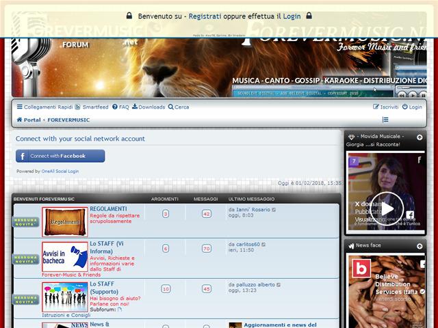 Anteprima forevermusic.net