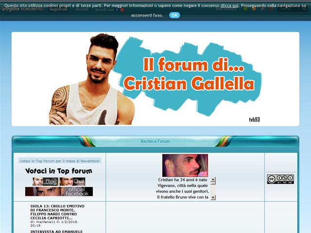 Anteprima cristiangalella.forumfree.it