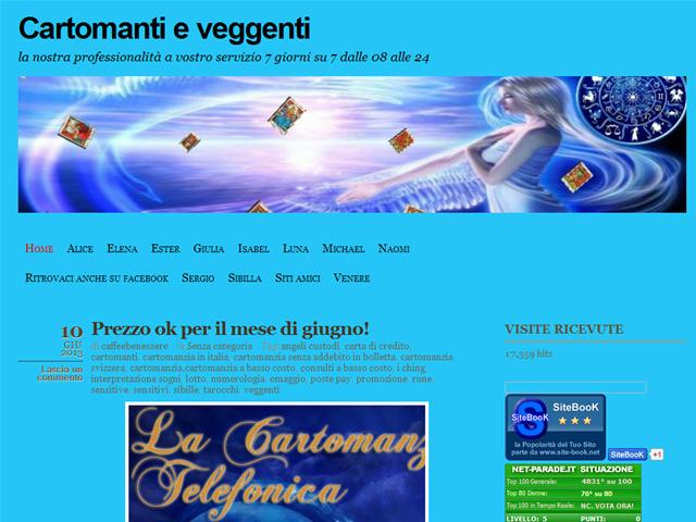 Anteprima cartomantieveggenti.wordpress.com