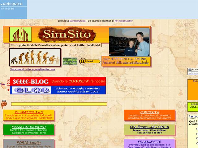 Anteprima web.tiscali.it/selleriosimone