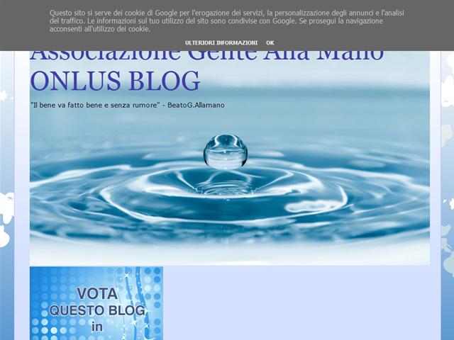 Anteprima genteallamano.blogspot.it