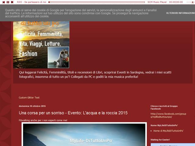 Anteprima mylife-dituttounpo.blogspot.it/2015/10/una-corsa-per-un-sorriso-evento-l-e-la.html