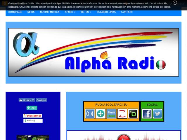 Anteprima www.alpharadio.altervista.org