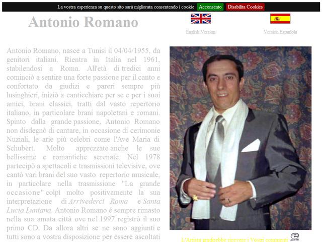Anteprima www.antonioromano.com