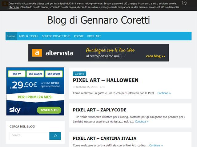 Anteprima gennarocoretti.altervista.org