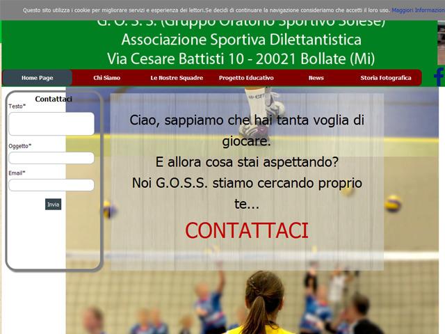 Anteprima www.gosscascinadelsole.it
