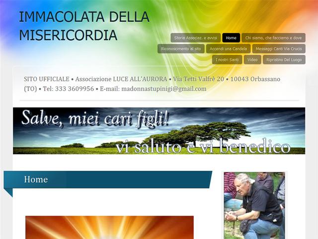 Anteprima www.immacolatadellamisericordia.it