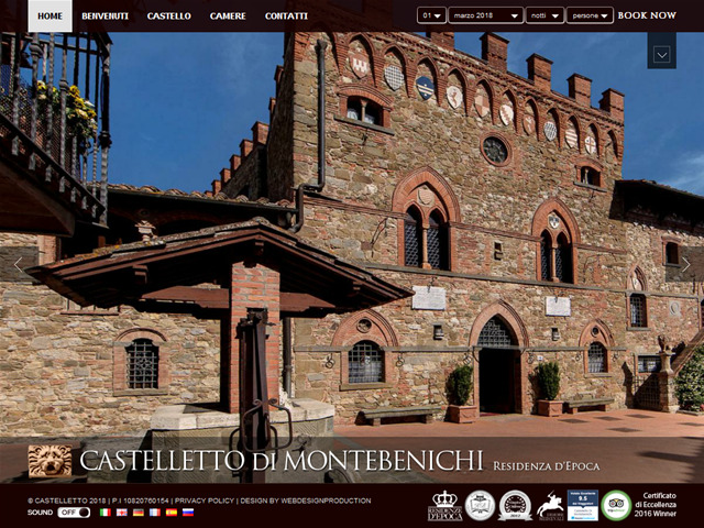 Anteprima www.castelletto.it