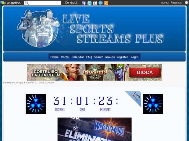 Anteprima lsstreams.forumattivo.com