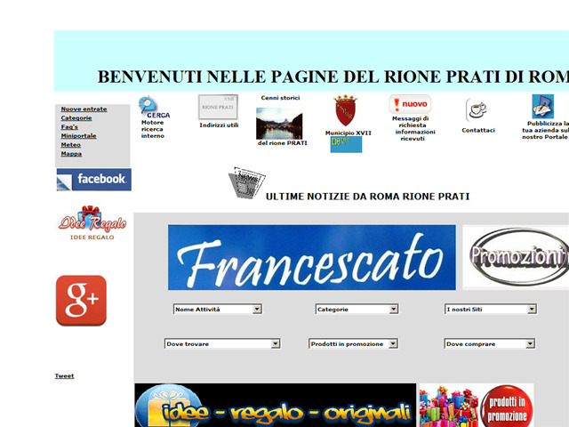Anteprima www.rioneprati.com