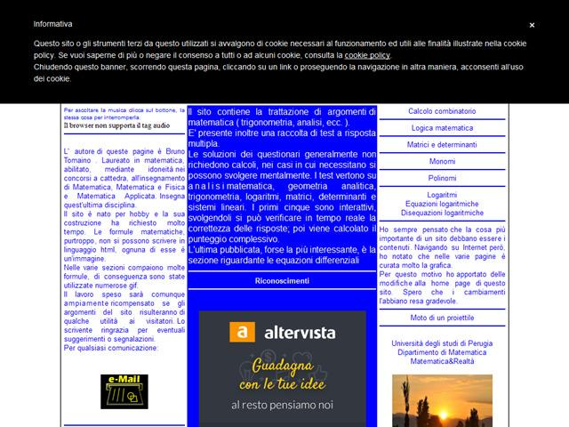 Anteprima www.sefed.altervista.org