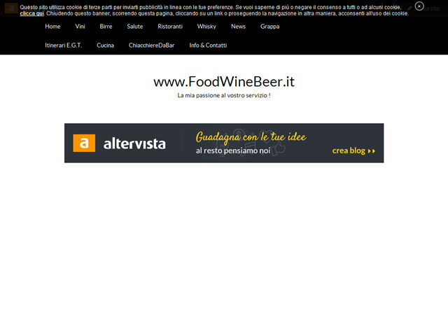 Anteprima www.foodwinebeer.it