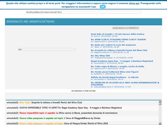 Anteprima winxpocket.forumcommunity.net