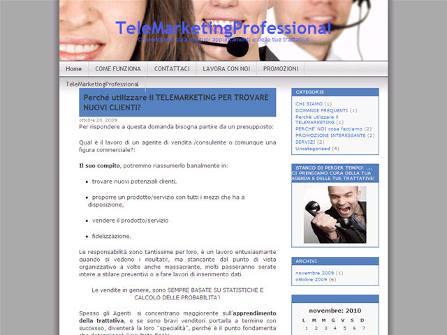 Anteprima telemarketingprofessional.wordpress.com