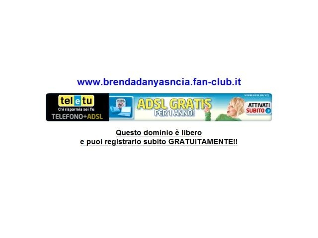 Anteprima www.brendadanyasncia.fan-club.it